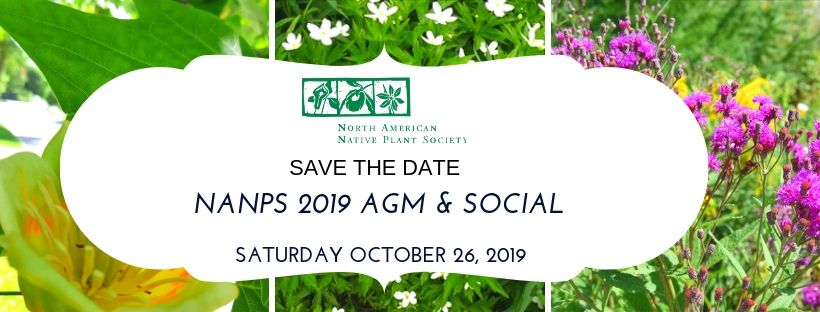 Save the Date - NANPS 2019 AGM & Social